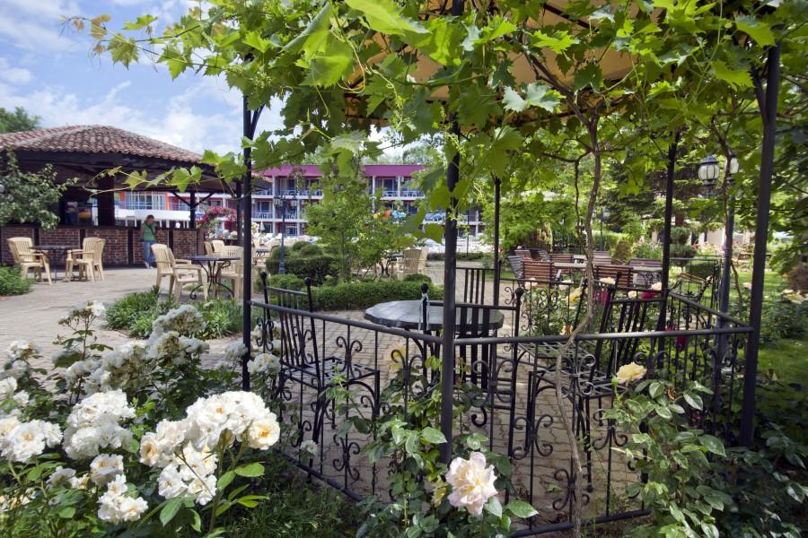 Regina Sunny Beach garden