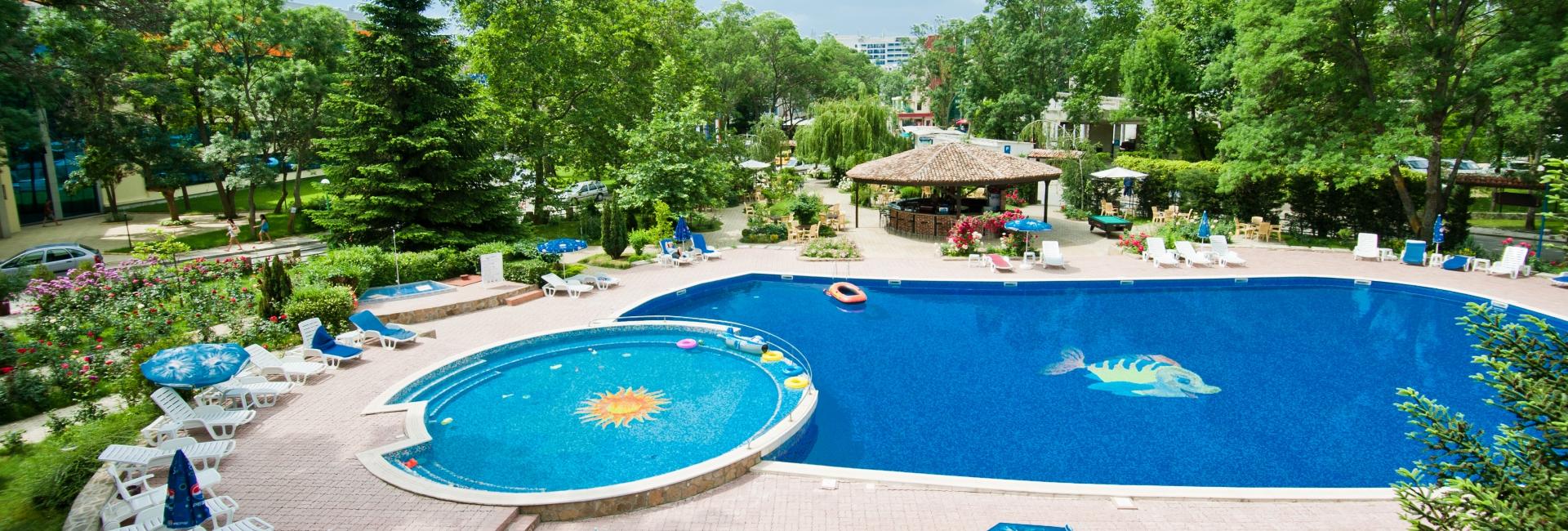 Home regina hotel sunny beach bulgaria - Sunny beach pools ...